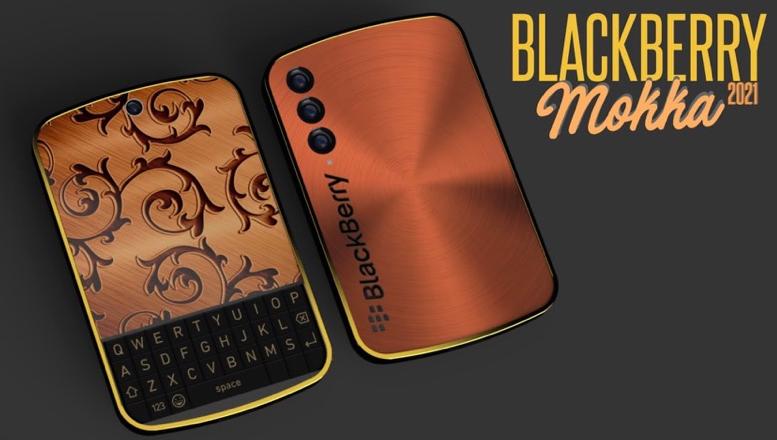 Blackberry Mokka 5G