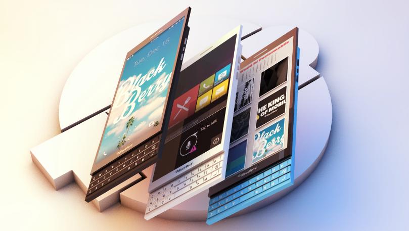 Blackberry Slider Concept Phone